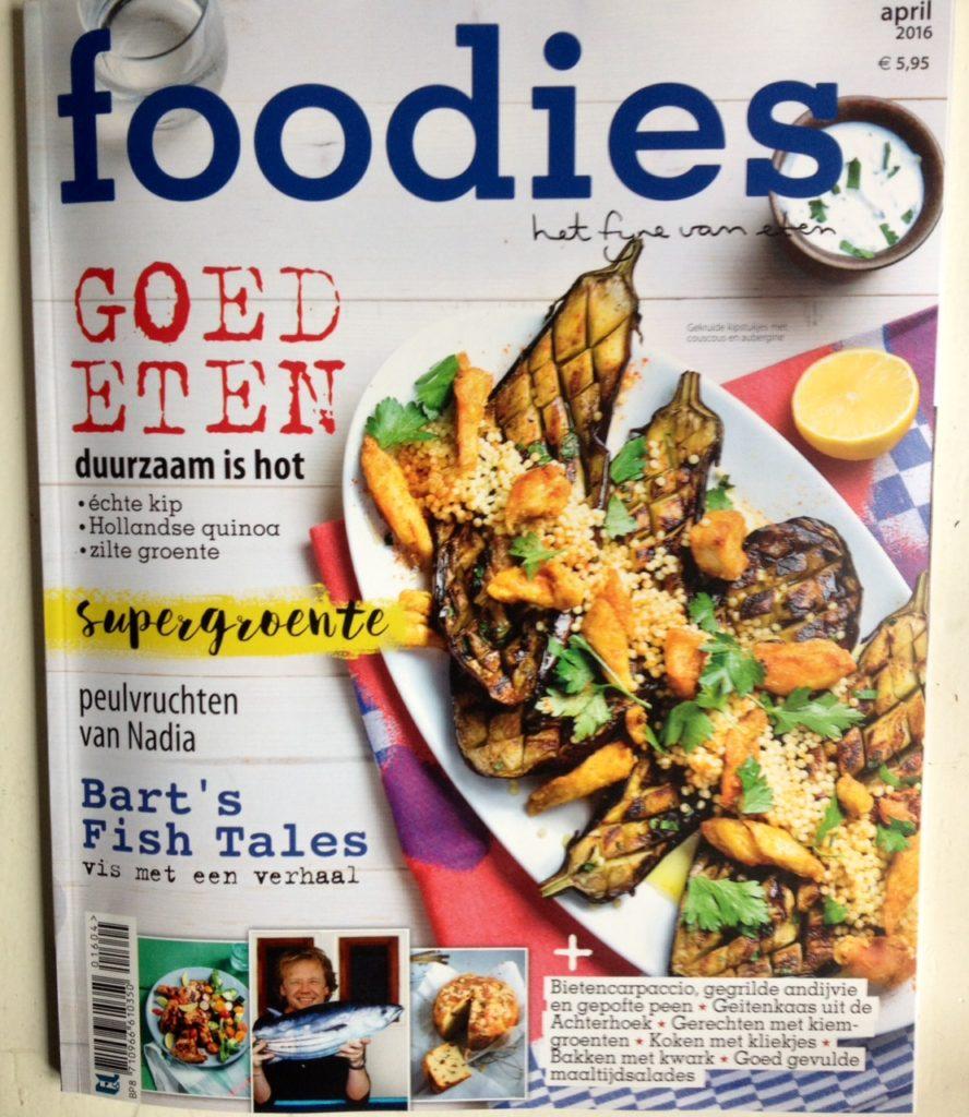 artikel in Foodies Magazine
